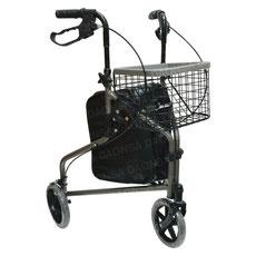 andador con ruedas, andador con tres ruegas, rollator de tres ruedas, andadera de tres ruedas, triciclo rollator, daonsa, ability monterrey, ability san pedro, ortopedia en monterrey, tercera edad, andadores para adultos,