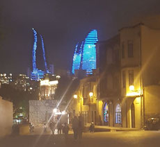 Tue 8th Caspian Air Cargo Summit was held at the impressive Flame Towers near downtown Baku  -- Photo: hs