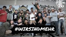 18 Rapper #wir sind mehr
