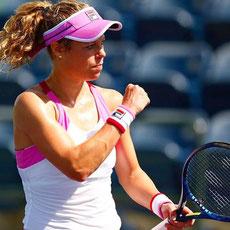 Unsere Sportmanagement-Studierenden hatten heute die Gelegenheit mit Tennisprofi Laura Siegemund zu talken.