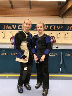 Hanna Herlitz und Lea Pscheidl