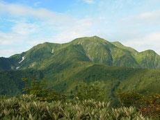 道行山から越後駒ケ岳