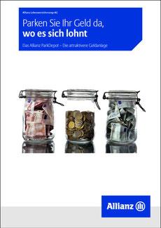 Broschüre Allianz Parkdepot