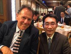 レッドランズ大学Groher教授と永井歯科医院 院長 永井健太