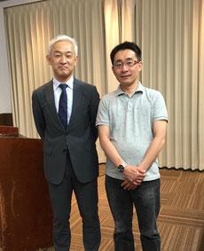 青島徹児先生と平成29年5月14日