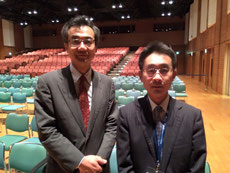 菊谷武先生と 永井歯科医院 茨木市 永井健太