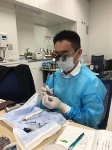 歯内療法研修会2016 受講・修了 永井歯科医院 永井健太