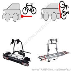 AHK-Fahrradträger, Heckträger, Dachträger - Fahrradtransport