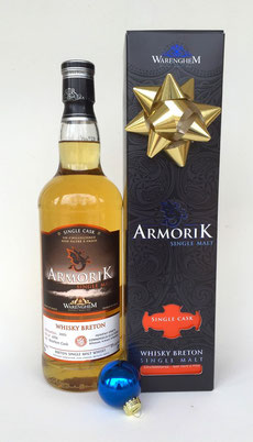 ArmoriK Single Malt Connoisseur's Collection, 2005 Bourbon Cask, Barrel #4764 - Single Malt Breton French Whisky  - Rare & Exceptional Spirit Gift Ideas - HeavenlySpirits