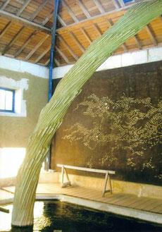 le chêne et le roseau (lavoir de Coulonges)
