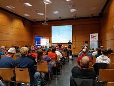 Vortrag von Neil Newton Taylor zum Swiftwater Rescue Konzept, Foto: DKV