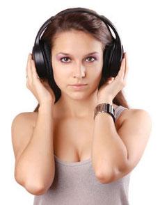 CDを聴く