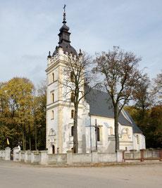 Murowany kościół z lat 1599-1613