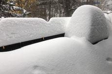 Goslar Februar 2021 - Neuschnee und Schneeverwehungen - Foto: Regine Schadach