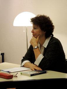Anja Siouda im Forum Bad Zurzach, auf Einladung des Frauenvereins