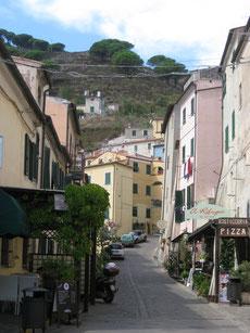 Italien, Elba, Bergdorf