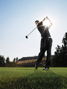 Spezial Brille für Golfspieler bei Gebker Optik erhältlich!