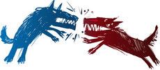 多頭飼い:犬同士の争いをさけるため