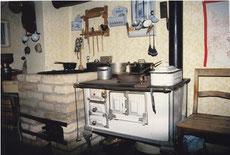 Küche wie zu alter Zeit
