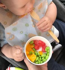 Unser Baby-led Weaning Blog - Zwischenbilanz Woche 23