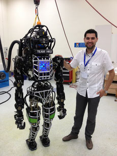 With Atlas Robot in HKU