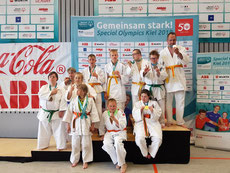 Teilnehmer vom JC in der Wettkampfklasse III