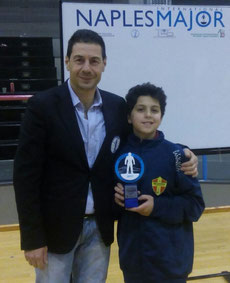 Riccardo Natoli 2° classificato cat. Under 15