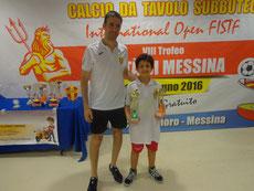 Riccardo Natoli vincitore Under 15 e Under 12