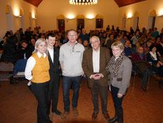 v.l.n.r.: Barbara Krug, Oliver Steinbrecher, Martin Sieffert, Michael Brockerhoff, Ingrid Schmitz