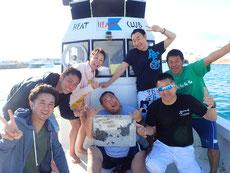 石垣島で2017年初潜り