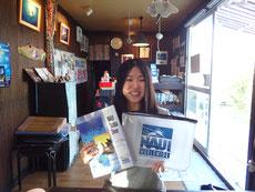 石垣島ヒートハートクラブ オープンウォーター講習で座学中