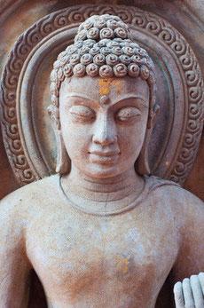 Die drei Pfeiler: Buddha, Dhamma, Sangha