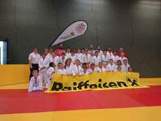 Mannschaft des Judo Club Stockerau 2019