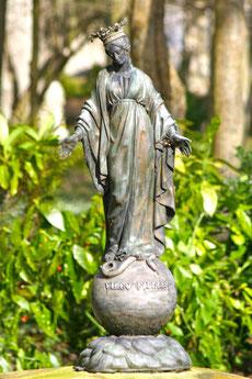 Statue ex-voto offerte par Mgr de Quelen (vers 1835)