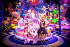 le kawai monster cafe avec un guide francophone japon prive