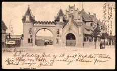 Historische Postkarte um 1900