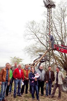 Die Ökumene stiftet Storchenhorst