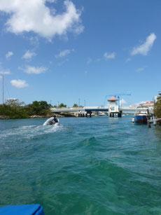 Brücke zur Lagune