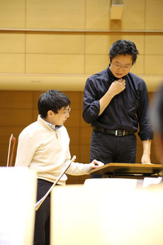 From the 6th Conducting Seminar (The Orchestra Session)