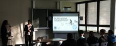 HP Vortrag über Ausbildungs-/Karriere-Angebote