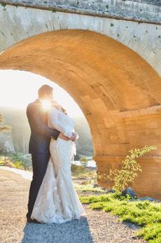 Trash the dress au Pont du Gard