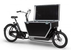 Cargo e-Bikes: wendig und praktisch