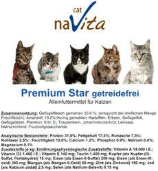 Getreidefreies Trockenfutter naVita-premium-star