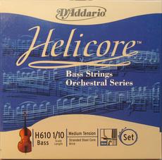 cordes d'addario hélicore orchestral contrebasse