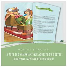 Revista infantil, Namaka, Verkami