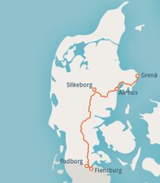 E1 durch Dänemark