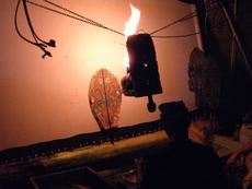 数多くあるワヤンの人形の中でも最も重要なワヤン「カヨナン」