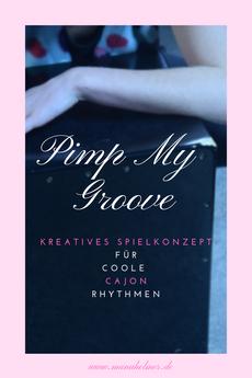 Kreative Cajon Rhythmen spielen Ideen