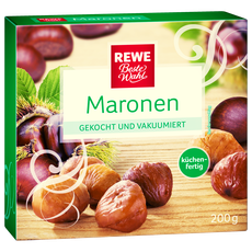 Maronensuppe, Maronen, Rewe