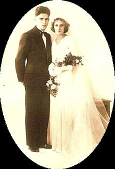 1934 - Mariage avec  Marthe COHN
